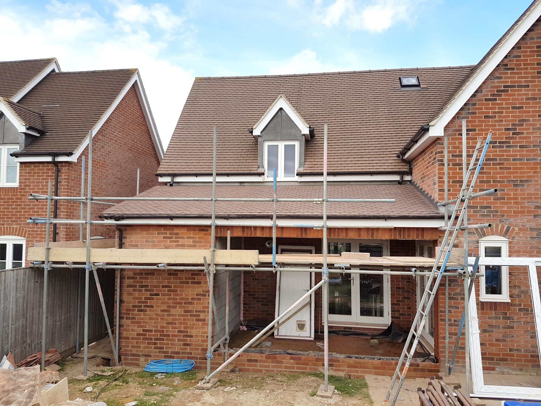 Single storey extension in Pewsey